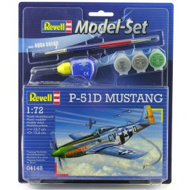 Revell 1:72 North American P-51D Mustang | Model Set | w/paints |