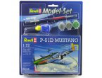 Revell 1:72 North American P-51D Mustang - MODEL SET - z farbami