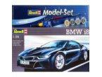 Revell 1:24 BMW i8 - MODEL SET - z farbami