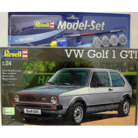 Revell 1:24 Volkswagen Golf 1 GTI | Model Set | w/paints |