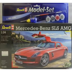 Revell 1:24 Mercedes-Benz SLS AMG | Model Set | w/paints |