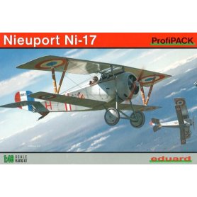 Eduard 1:48 Nieuport Ni-17 ProfiPACK