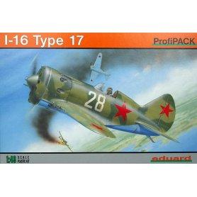 Eduard 1:48 Polikarpov I-16 Type 17 ProfiPACK