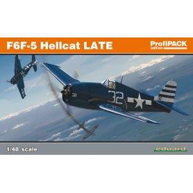 Eduard 1:48 Grumman F6F-5 Hellcat late version ProfiPACK