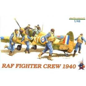 EDUARD 1:48 8507 RAF FIGHTER CREW 1940