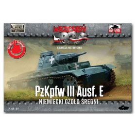 First to Fight 1:72 Pz.Kpfw.III Ausf.E