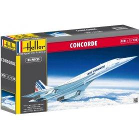 Heller 1:125 Concorde