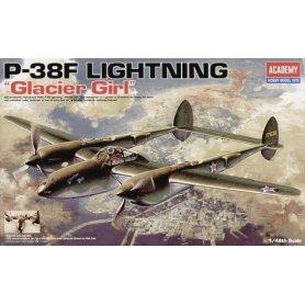 ACADEMY 12208 P-38F LIGHTNING  1/48