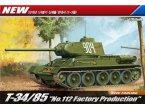 ACADEMY 13290 T-34/85 112 Faktory Production