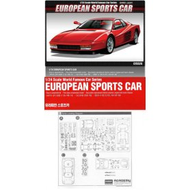 Academy 15526 European Sports Car 1/24