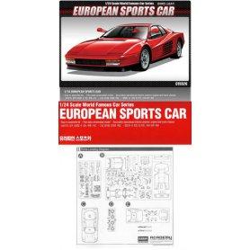 Academy 15526 European Sports Car 1/24