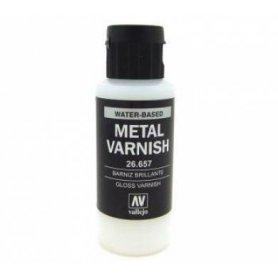 Vallejo Lakier metaliczny bezbarwny 60ml
