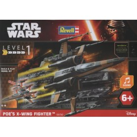 Revell 06750 Star War Poes X-Wing Fighter B&P