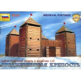 ZVEZDA 8501 MEDIEVAL FORTRESS 1/72