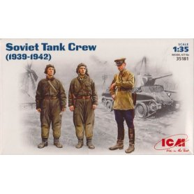 ICM 35181 SOVIET TANK CREW 39-42
