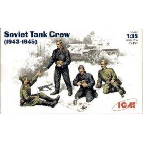 ICM 35351 SOVIET TANK CREW 43-45