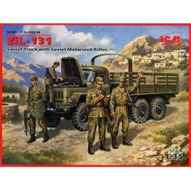ICM 35516 ZIL-131 W/SOVIET MOT. RIF