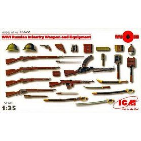ICM 35672 WWI RUSSIAN INF. WEAPON