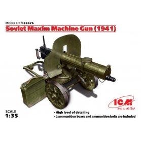 ICM 35676 SOVIET MAXIM MG 1941