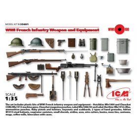 ICM 35681 WWI FRENCH INF. WEAPON