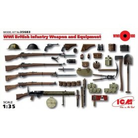 ICM 35683 WWI BRITISH WEAPONS & EQ.