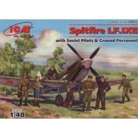 ICM 48802 SPITFIRE IX AND SOVIET