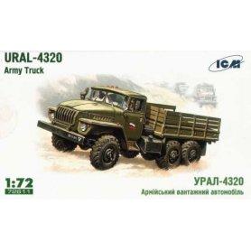 ICM 72611 URAL 4320 SOV. ARMY CARGO