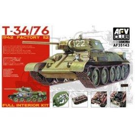 AFV Club 35143 T-34/76 1942 Factory 112