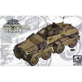 AFV Club 35233 Sd.Kfz 233 8-RAD w/7,5cm Gun