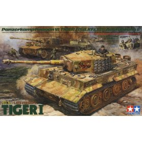 Tamiya 1:35 Pz.Kpfw.VI Tiger I późna wersja z załogą