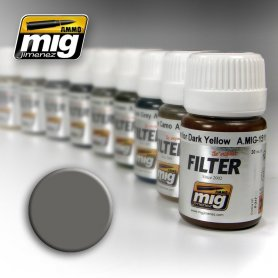 Ammo of MIG FILTER Grey for White
