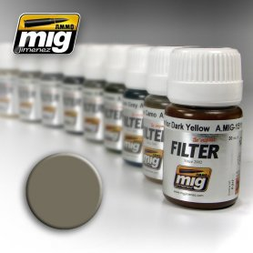 Ammo of MIG FILTER Grey for Yellow Sand