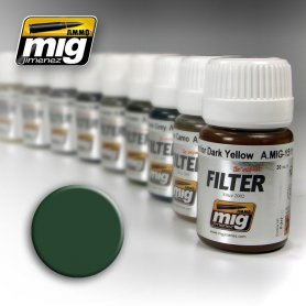 Ammo of MIG FILTER Green for Green Grey