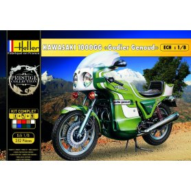 Heller 52912 Kawasaki 1000GG Godier Genoud