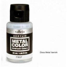 Vallejo Lakier metaliczny bezbarwny 32ml