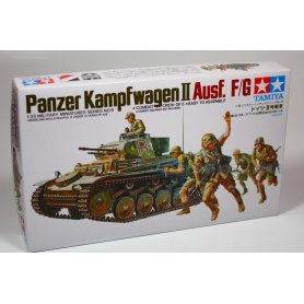 Tamiya 1:35 Pz.Kpfw.II Ausf.F / G | 5 figurines |
