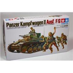 Tamiya 1:35 Pz.Kpfw.II Ausf.F / G | 5 figurek |
