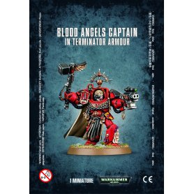 Blood Angels Captain Terminator Armour