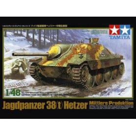 TAMIYA 32511 1/48 Hetzer Tank Destroyer Mid Prod