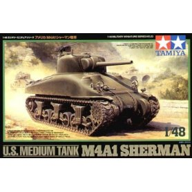 TAMIYA 32523 1/48 US Medium Tank M4A1 Sherman