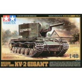 TAMIYA 32538 1/48 Russian Heavy Tank KV-2 Gigant