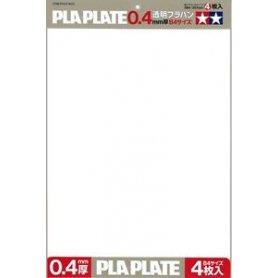 TAMIYA 70127 Płyta plastikowa 0,4mm format B4 4szt