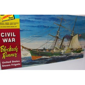 Lindberg 1:124 Civil War Blockade Runner