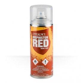 Podkład w sprayu Citadel Mephiston Red