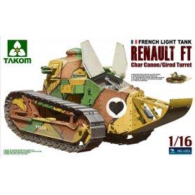 TAKOM 1001 RENAULT FT-17 1/16