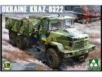Takom 2022 KrAZ - 6322 late version