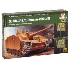 ITALERI 1:56 15756 WWII Sturmgeschutz III