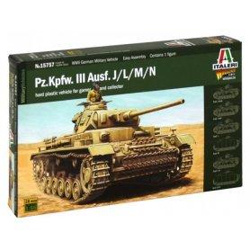 Italeri 15757 1/56 WWII Pz.Kpfw.III Ausf. J/L/M/N