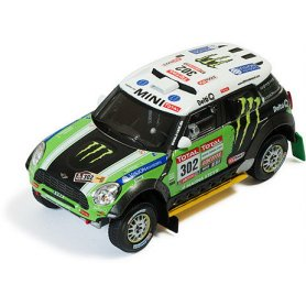 IXO 1:43 MINI ALL 4 Racing 302 S.Peterhansel-J.P.Cottret Winner Dakar 2012