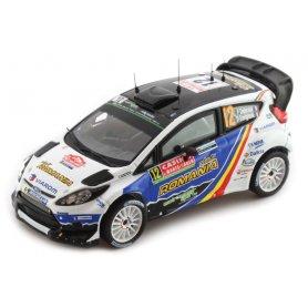 IXO 1:43 FORD FIESTA RS WRC 12 F.Delecour-D.Savignoni Rally Monte-Carlo 2014